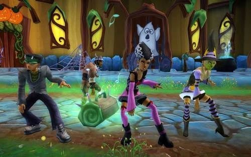 Free Realms Holds Halloween Spooktacular