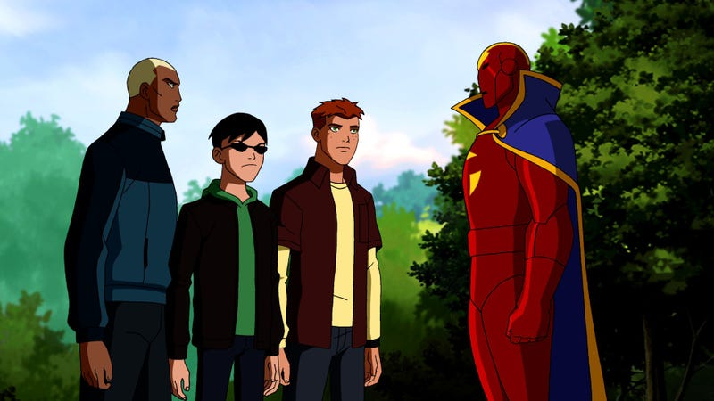 Young Justice 1.03 Photos