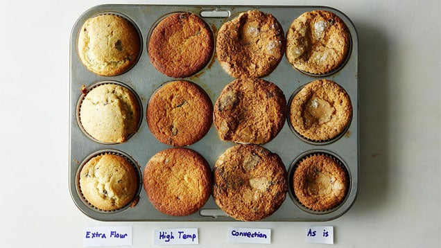 Bake Muffins with Beautifully Domed Tops by Adding a Little More Flour