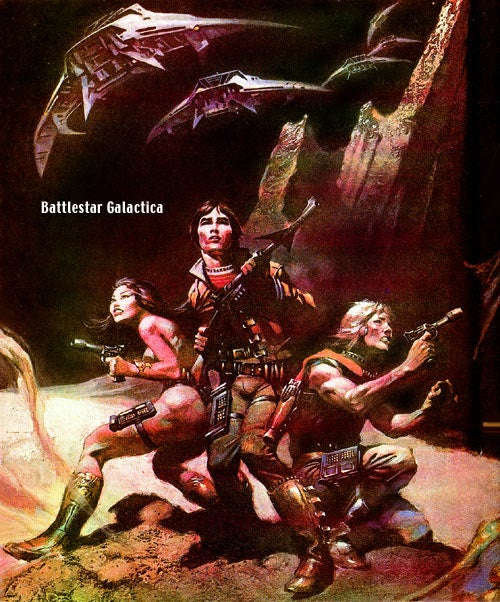The Savage Barbarians Of Battlestar Galactica