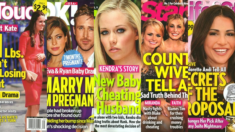 This Week in Tabloids: Kate Middleton Is Pregnant and Anorexic