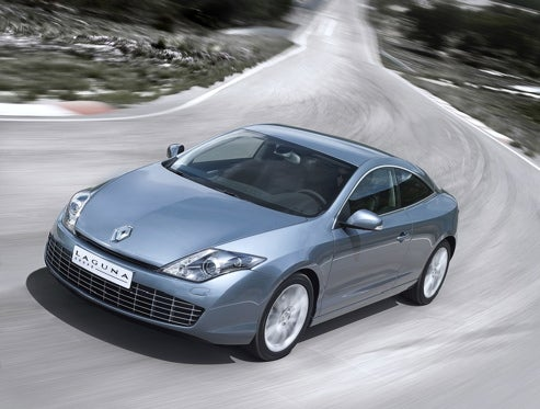 2009 Renault Laguna Coupe Debuts At Cannes And Monaco, Gets Favorable Treatment For Being French