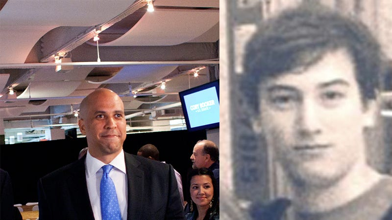 Cory Booker Gave CNN Chief's 14-Year-Old Son a Job