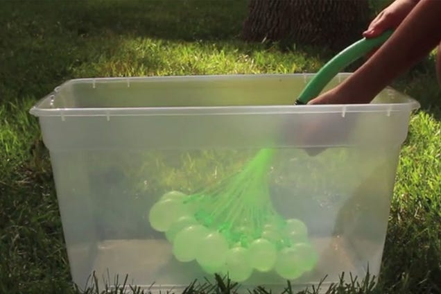 This Could Be the Greatest Advance in Water Balloon Technology Ever
