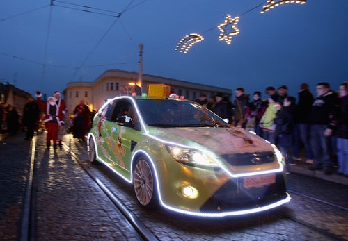 Santa Rolls In A Focus RS