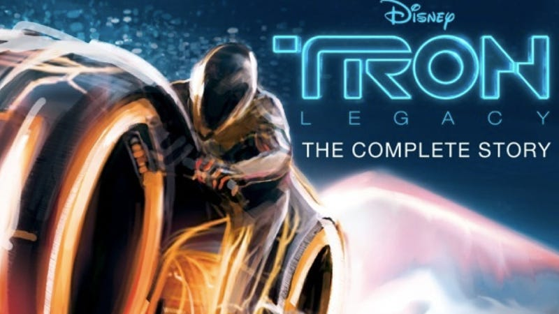 Gorgeous visuals animate Tron: Legacy interactive iPad book app