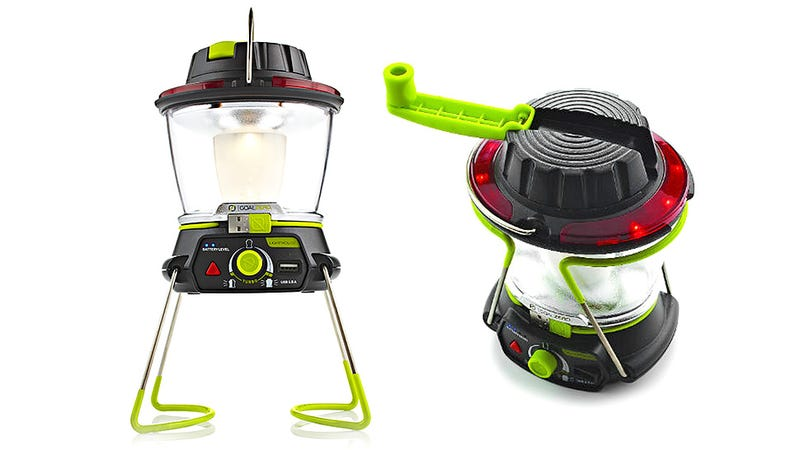A Camping Lantern That Keeps Your Gadgets Glowing Too