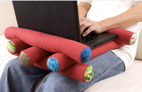 Laptop Pillows Are Expensively Cool For Your Thigh Hairs