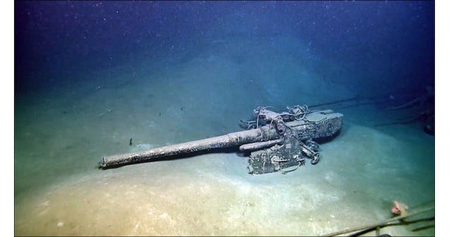 A Sunken Nazi Sub Is Visited Off The Texas Coast [Updated]