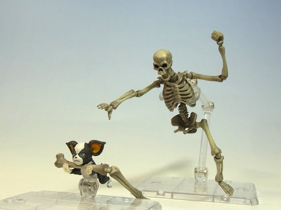 Like Creepy Woody, This Skeleton Warrior Is Nothing But Good Times