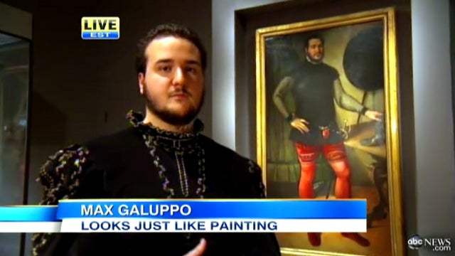 Slowest News Day Ever? ABC News Interviews College Student Who Kinda Looks Like Some Guy in an Old Painting