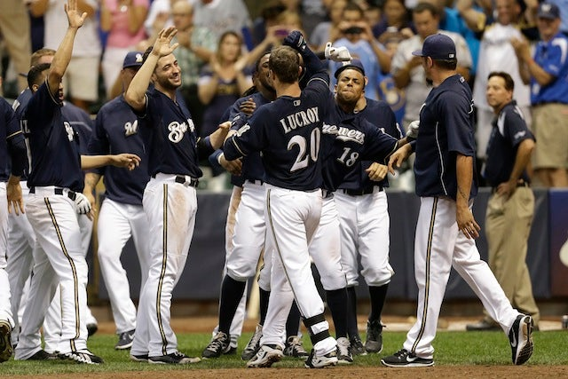 Jonathan Lucroy Saved The Brewers, Who Need Him To Keep It Up