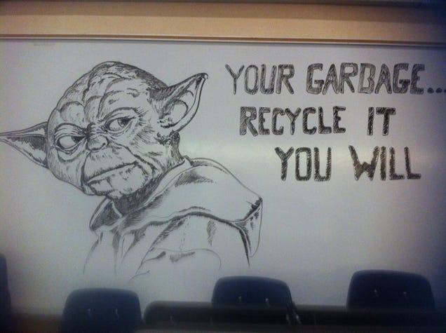 School janitor wins internet with amazing zelda drawings for Cool stuff to draw on a whiteboard