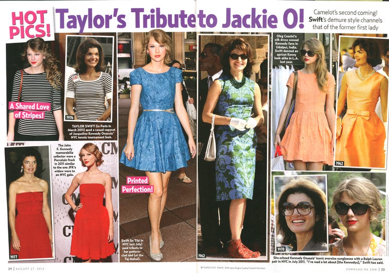 This Week In Tabloids: Taylor Swift Will Soon Be Taylor Kennedy and Is Already Dressing Like Jackie O.