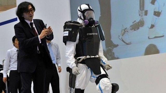 Mind-controlled robot suit could help Japanese emergency crews with damaged nuclear plant
