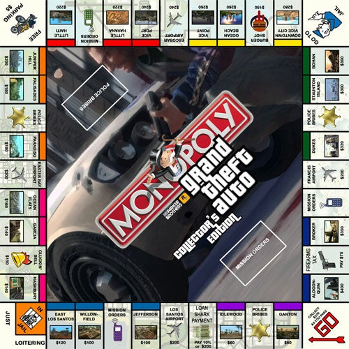 Monopoly Gets The Grand Theft Auto III Treatment