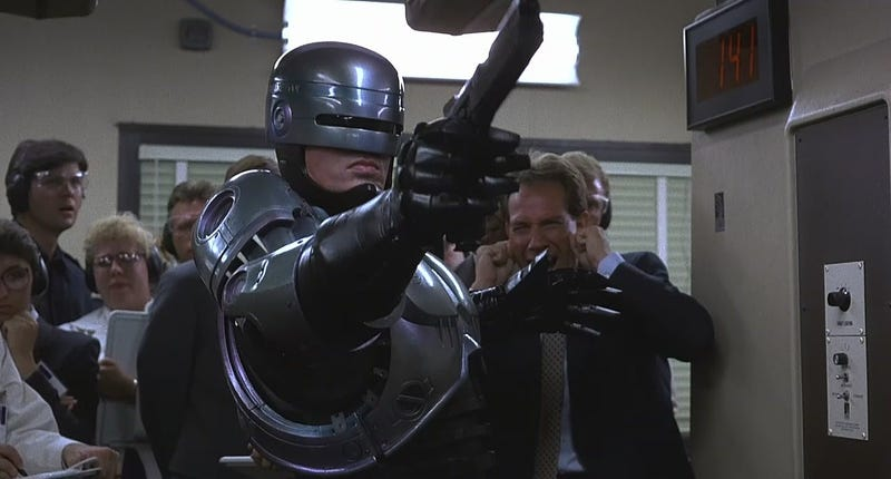 It's a pretty good day to be Robocop