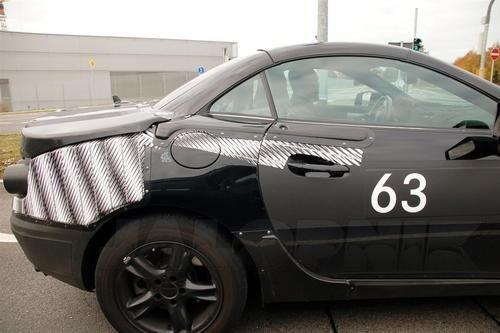 Mercedes Benz SLK Camouflaged