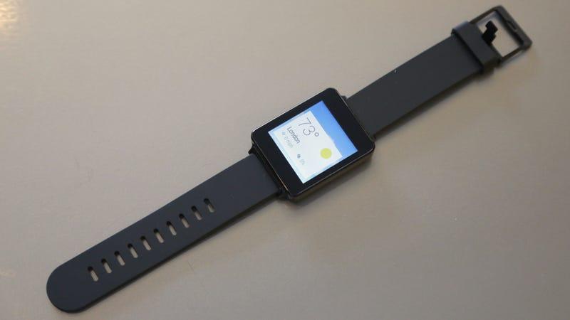 LG G Watch Hands-On: A Smartwatch That Feels Like a Watch
