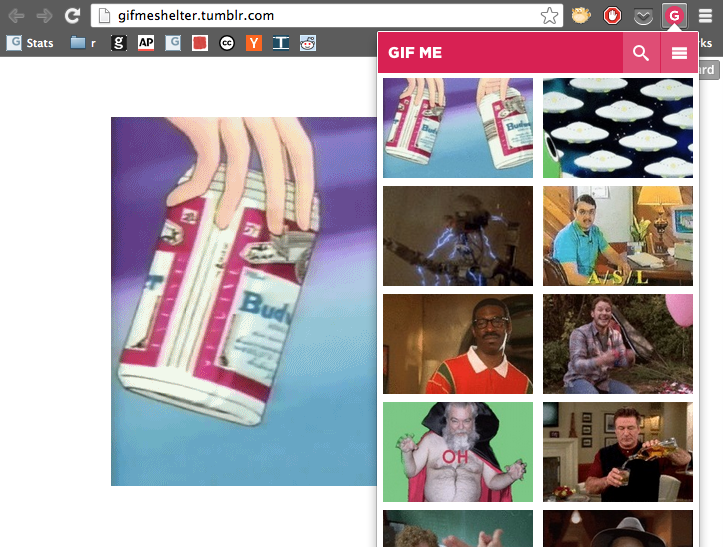 GIF-Saving Tool GIFME Is My New Favorite Chrome Extension