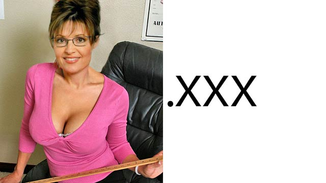 Sarah Palin and Obama Won't Get Porn .XXX Sites