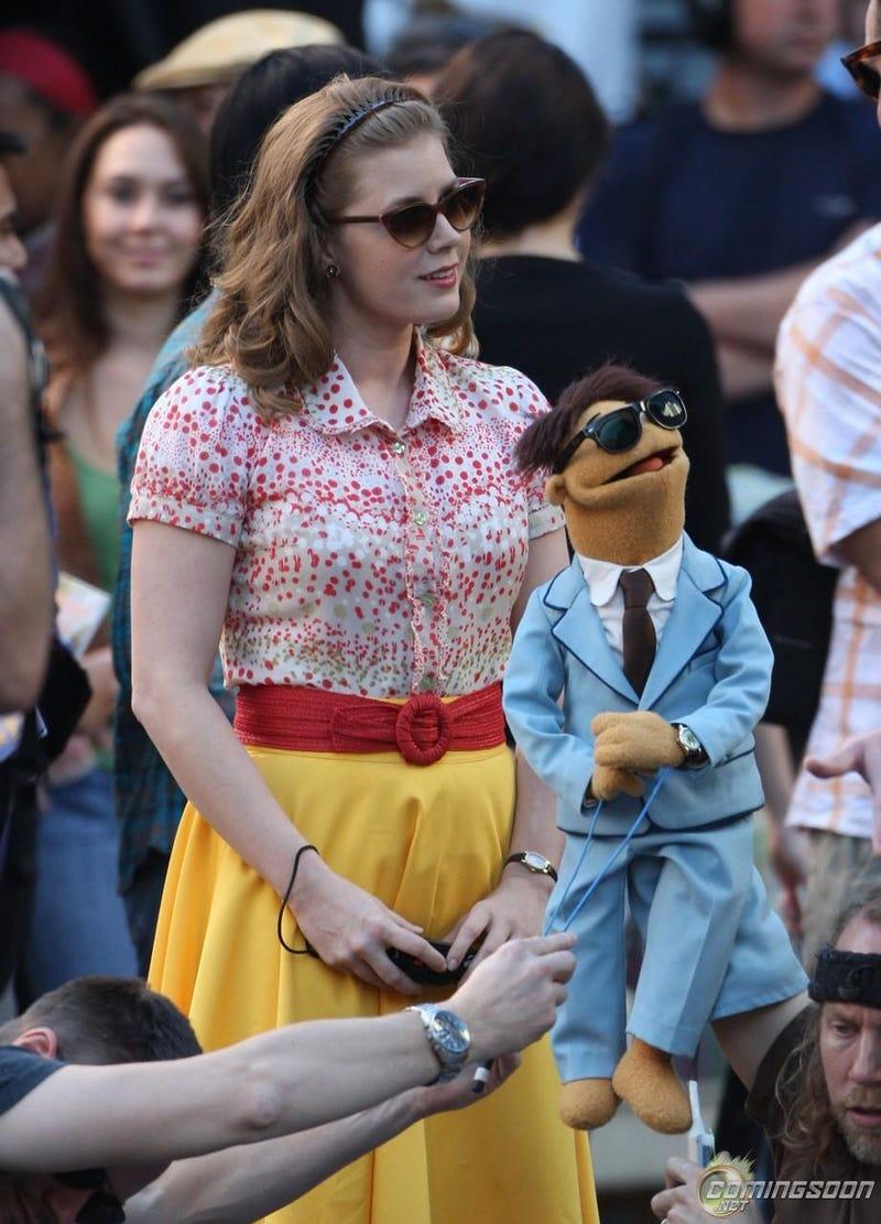 Muppet set photos