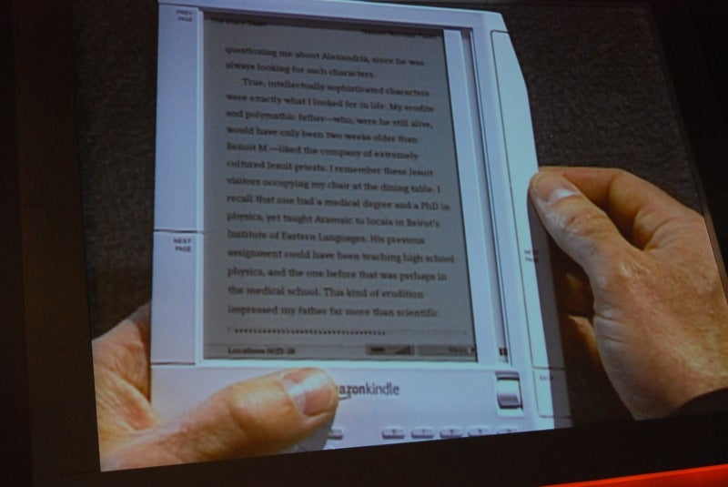 Amazon Kindle E-Book Reader Launch (Live)