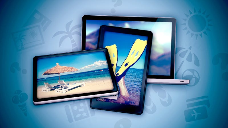 Do You Bring Your Gadgets on Vacation?