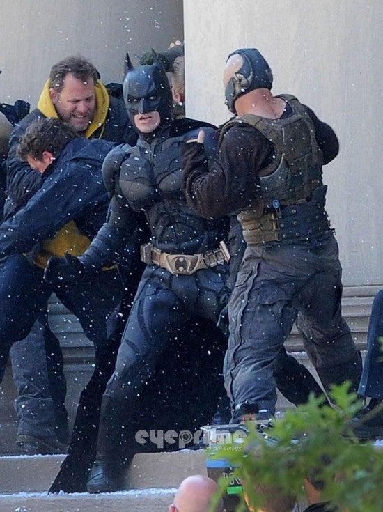 The Dark Knight Rises Pictures — Batman Vs Bane