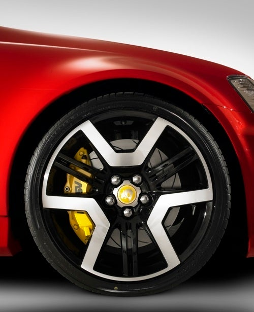 The HSV GTS Has The Coolest Wheels Ever