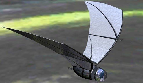 Army's Miniature Spy-Bat Concept Makes Lucius Fox Drool