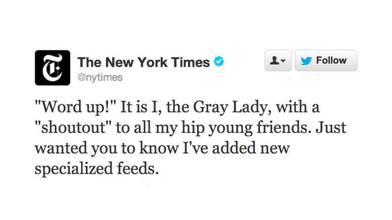 Even the New York Times Had to Learn Its Way Around Twitter