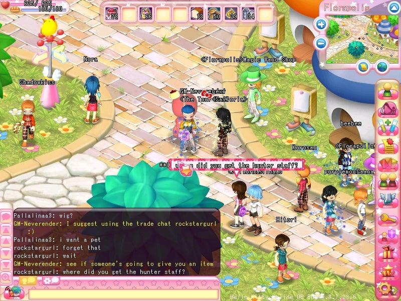 New Hello Kitty Online Screens
