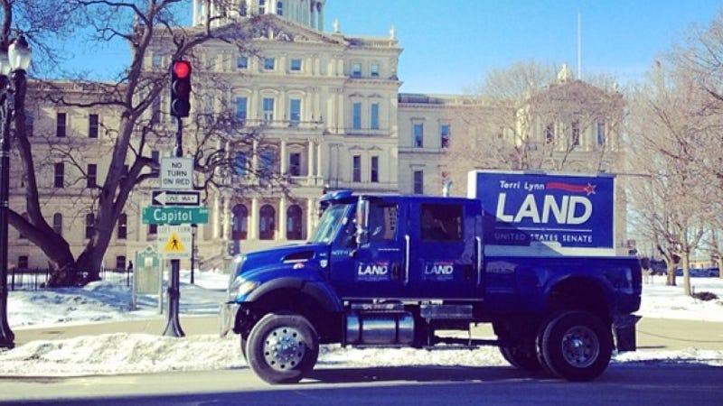 Can This Simply Gigantic Pickup Help A Politician Get Elected?