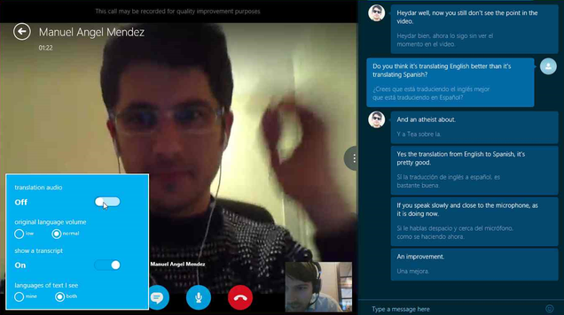 Skype Translator Hands-On: Close But No Babel Fish