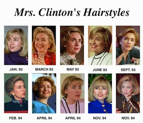 Hillary Is Jealous Of Geithner's Hair