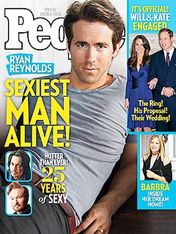 Is Ryan Reynolds Really The Sexiest Man Alive?