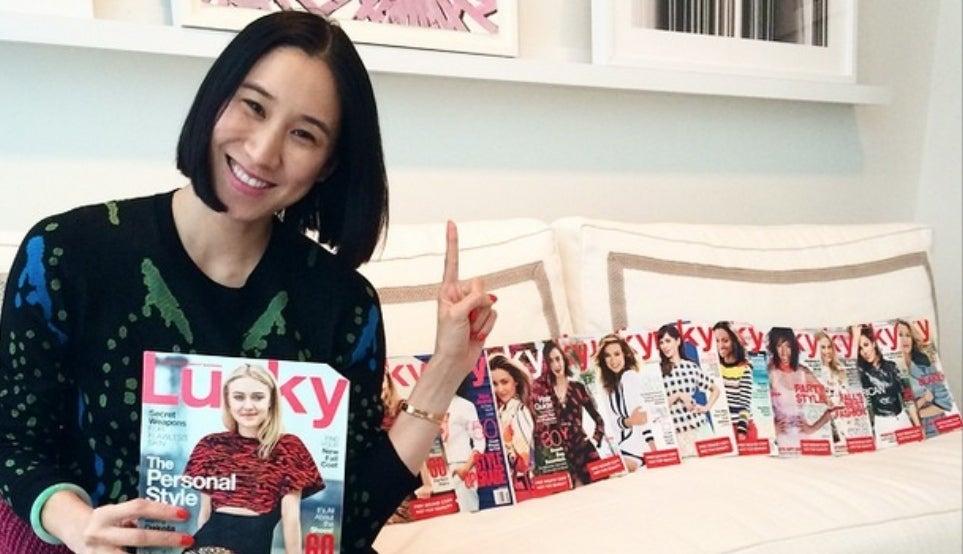 lucky magazine spin conde nast