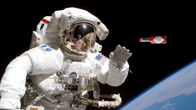 Why do astronauts crave spicy food in space?