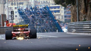 Ferrari F92A Dragging Its Fat Ass Around Monaco, 1992