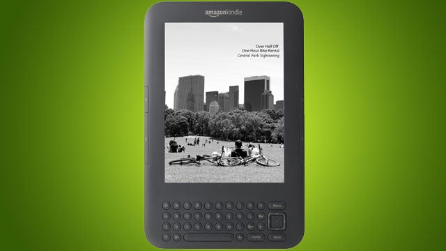 AmazonLocal Deals Coming Soon to Your Kindle with Special Offers Screensaver