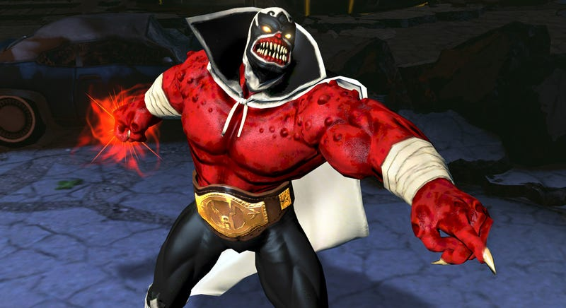 Play DC's Infinite Crisis As A Red Lantern Luchador