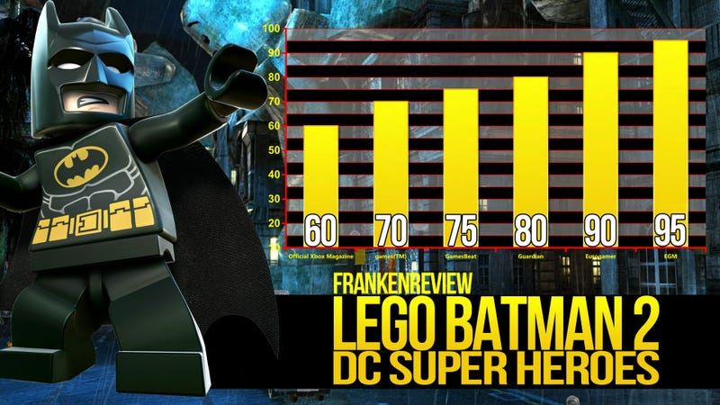 LEGO Batman 2 and Friends Team Up to Take Down the Diabolical Game Reviewer Gang