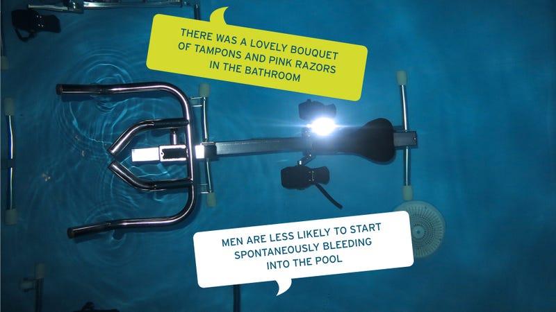 'I Kept Thinking I Was Peeing?': Gawker Rides Bikes Underwater