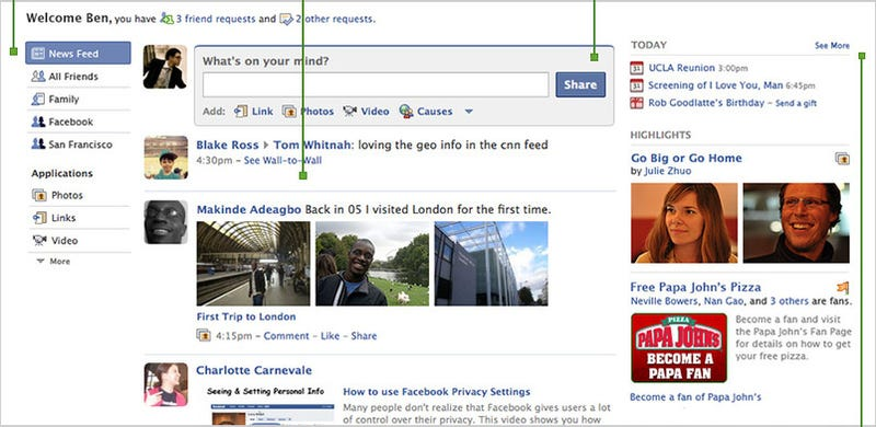 What Facebook's New Look Means