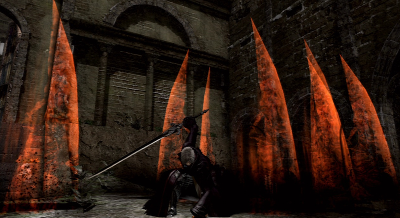 But Can Dark Souls Make Devil May Cry's Dante?