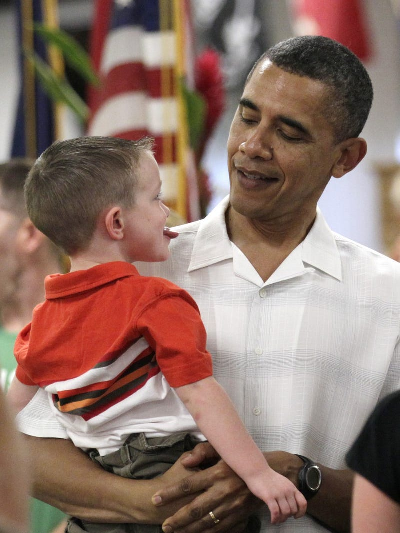 President Thoughtfully Considers Child's Anti-Vegetable Stance