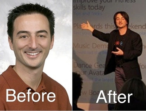 Extreme Makeovers for Geeky Microsoft Execs