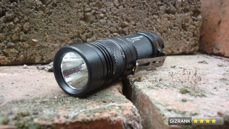 Sunwayman V11R Flashlight Review: Does It Down to the Lumen