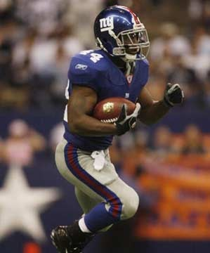Giants Running Back Once Couldn't Even Outrun The Five-Oh